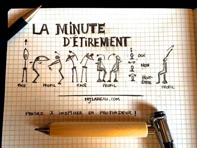 La minute d'étirement